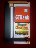 Bank Season's Greetings Card (30 x 13' inches) - Price: N10000