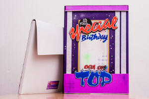 Birthday Greeting Card (14 x 10' inches) - Price: N3000