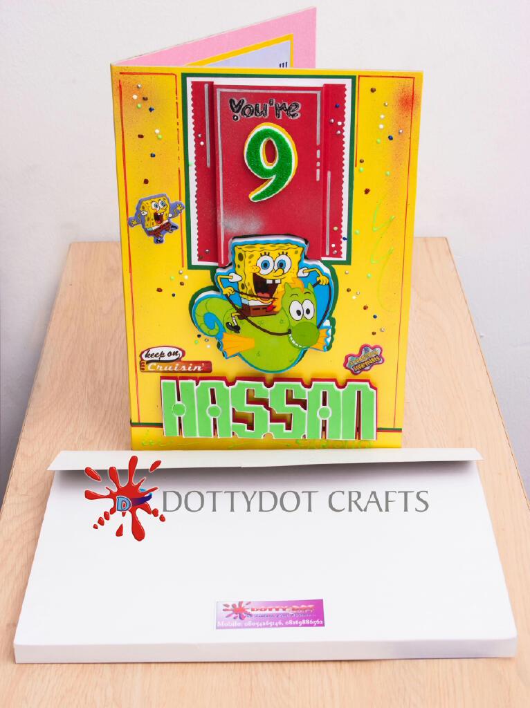 SpongeBob Animated Birthday Greeting Card