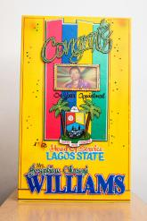 Cooperate Greeting Card (30 x 13' inches) - Price: N10000
