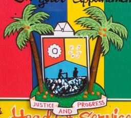 Lagos State Logo Greeting Card