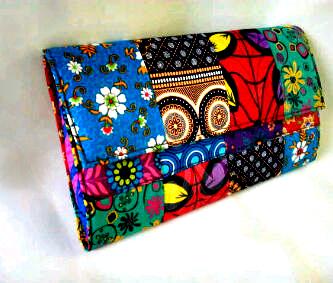 Ankara Patch Clutch Purse Price: N2500