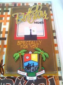 Check Pattern Birthday Greeting Card | Dottydot Crafts