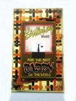 Birthday greeting card - daddy