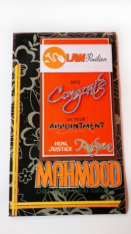 Appointment Greeting Card | Law Pavilion