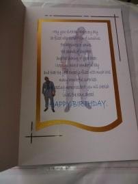 Birthday Greeting Card | Suit Design
