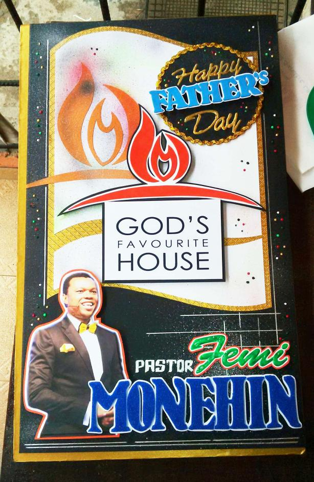 Father's Day Greeting Card for Pastor Femi Monehin
